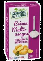 Crème UHT multi usage 30% 6L CDF
