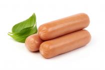 SAUCISSES HOT DOG 100% BOEUF PETIT 21MM IQF HALAL DEENI 4 kg