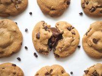 Cookie pépites chocolat au lait fourré cacao noisette 80g x 40