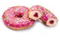 Donut (individuel) fourré fraise 70g x 39
